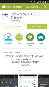 kalorienz hler apps im test low carb blog. Black Bedroom Furniture Sets. Home Design Ideas